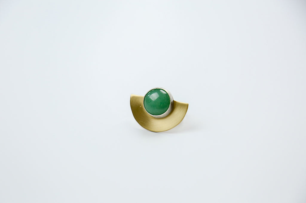 Jade Horizon Ring