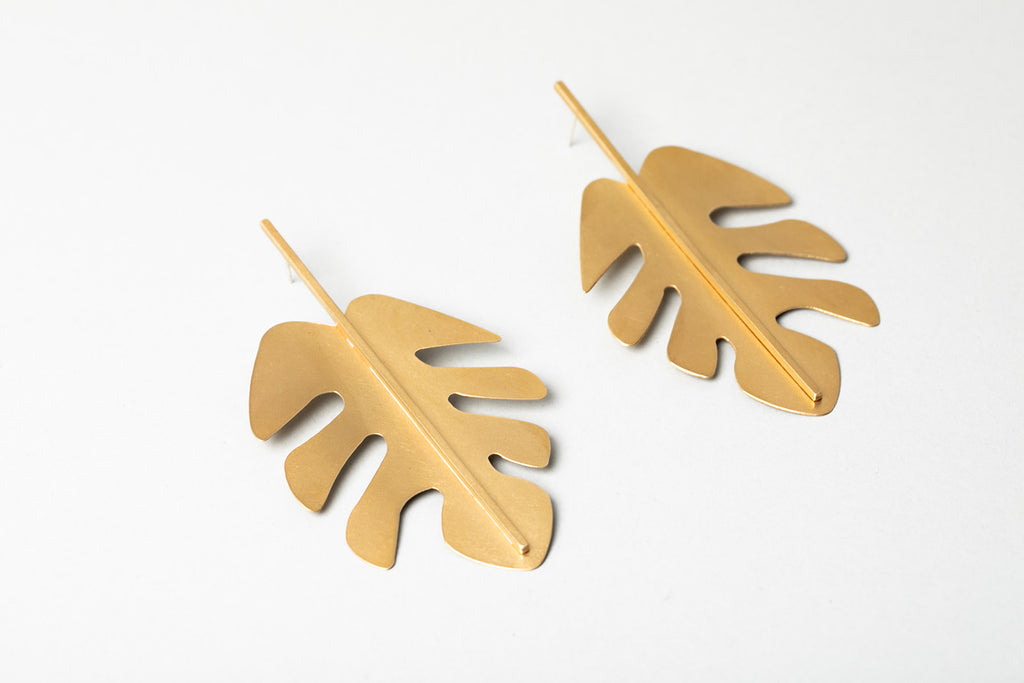 Philodendron Earring