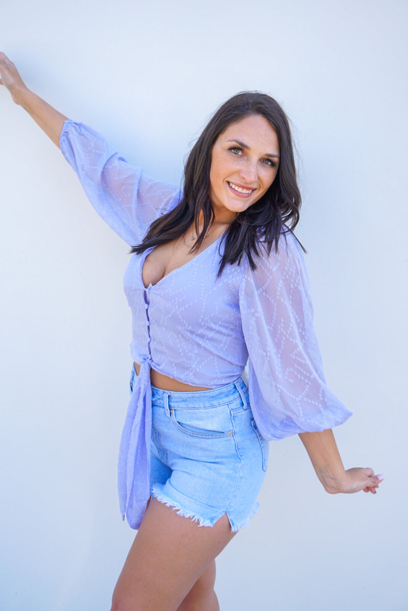 Periwinkle Perfect Top