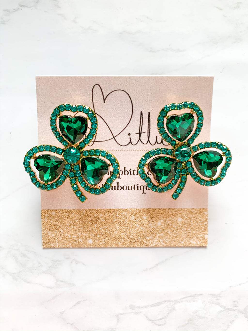 St. Party's Day Earrings
