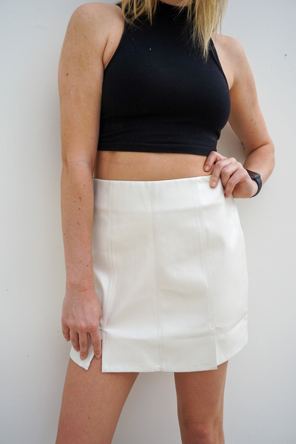 Winter White Skirt