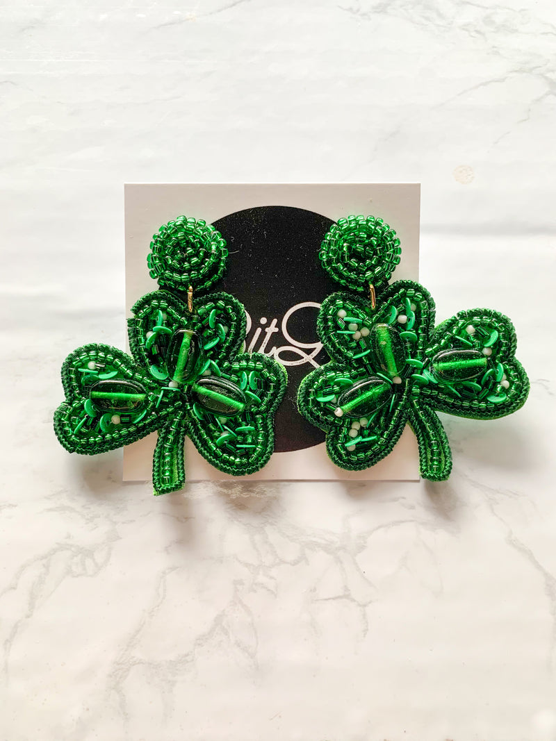St. Patrick's Earrings