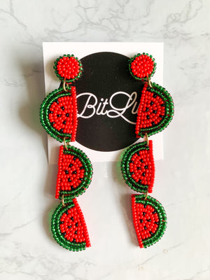Watermelon Sugar High Earrings