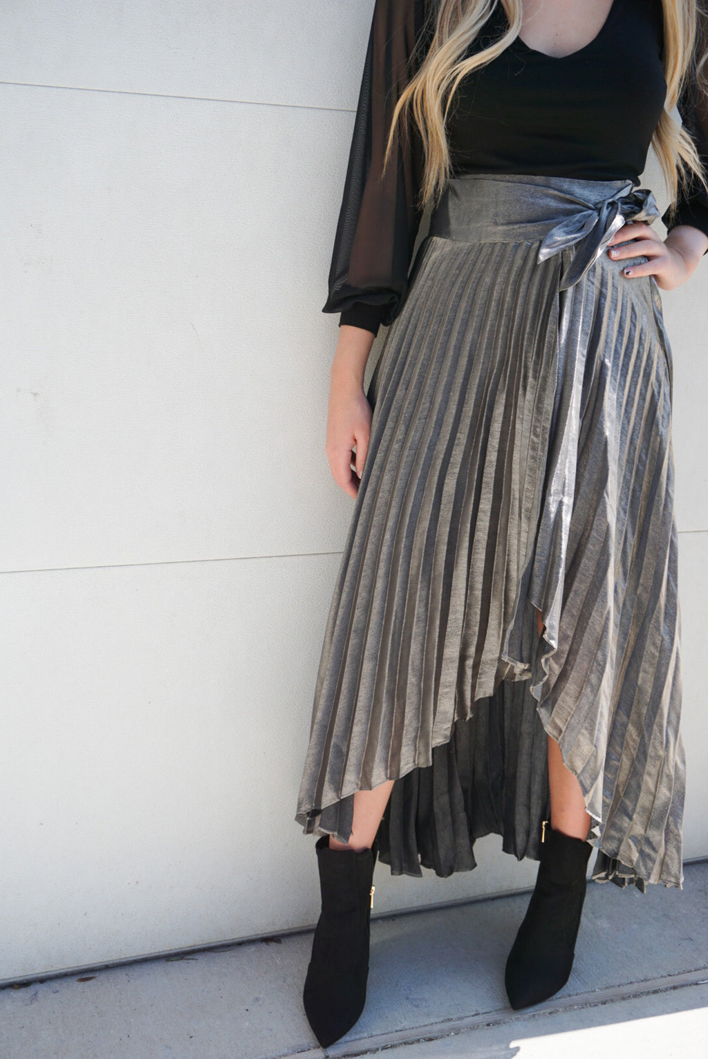 Twirl Around Wrap Skirt