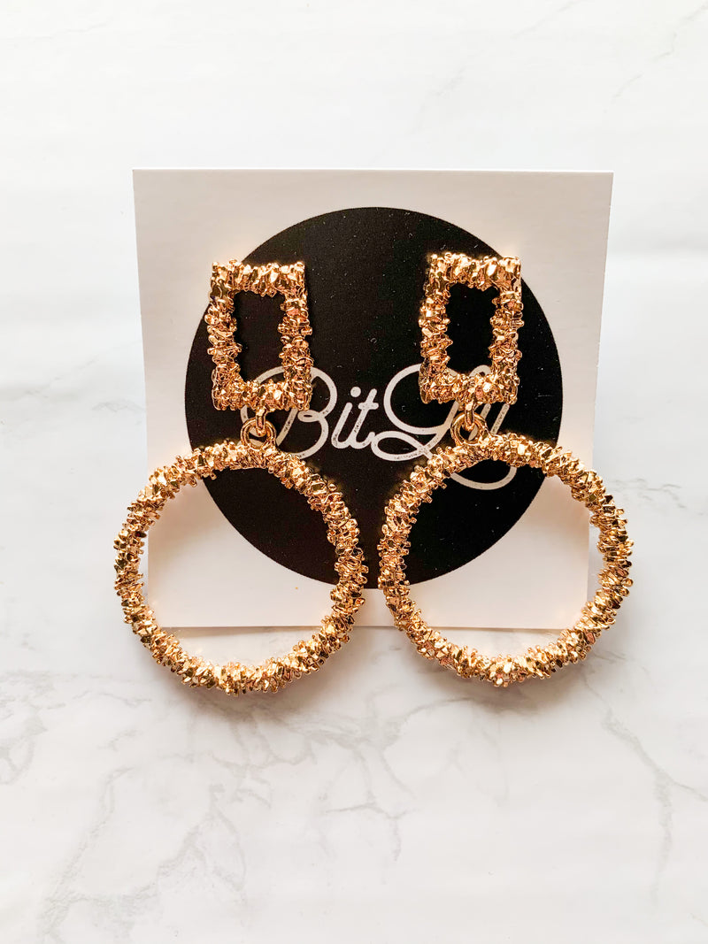 Gold Detail Earrings