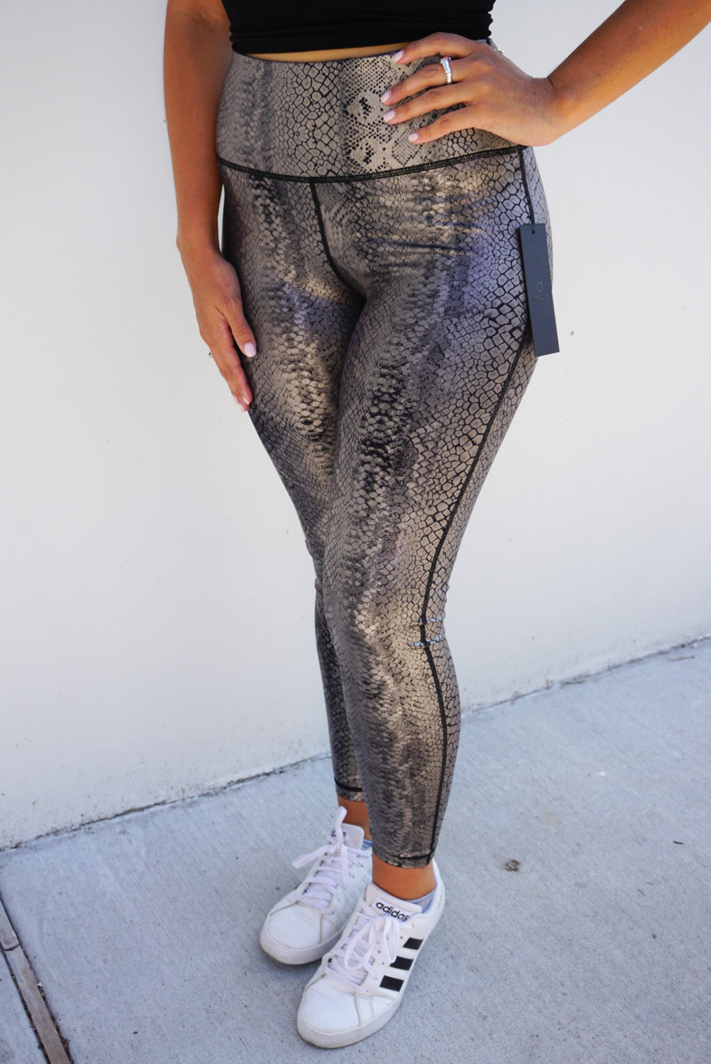 Copperhead Snake Shimmer Leggings