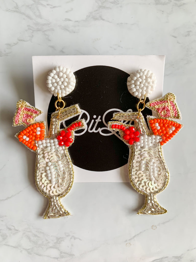 Summertime Cocktail Earrings