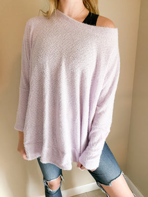 Lovely In Lilac Sweater