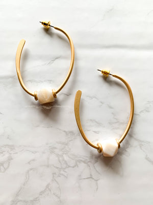 Charming Hoop Earrings