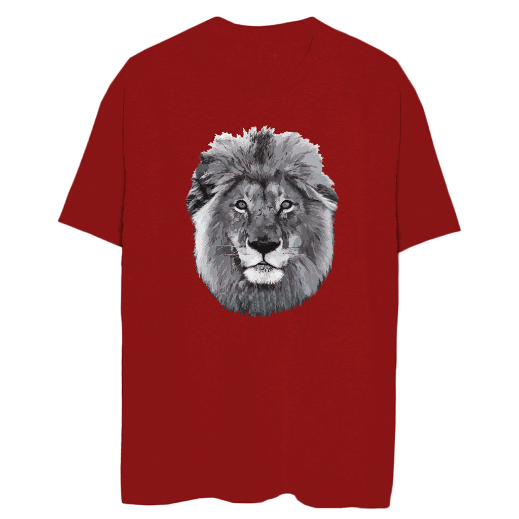 Women's Lion Face Relaxed Tee