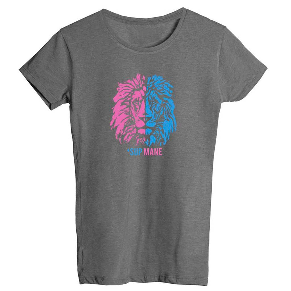Women's 'Sup Mane Fitted T-Shirt