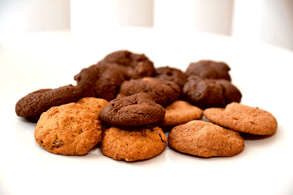 Food Allergy Safe Bite Size Cookies