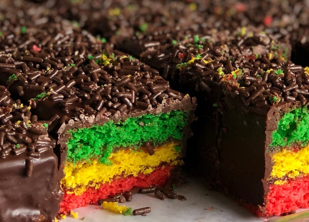 Vegan Rainbow Cookies