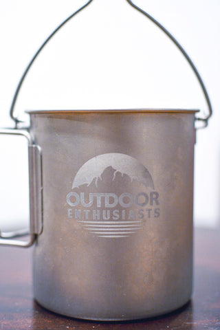 Outdoor Enthusiasts | The 25 Oz Backpacker Mug | (750 ml)