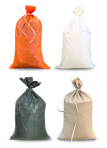 14x26 polypropylene sandbags (all colors)