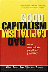 Good Capitalism, Bad Capitalism book cover