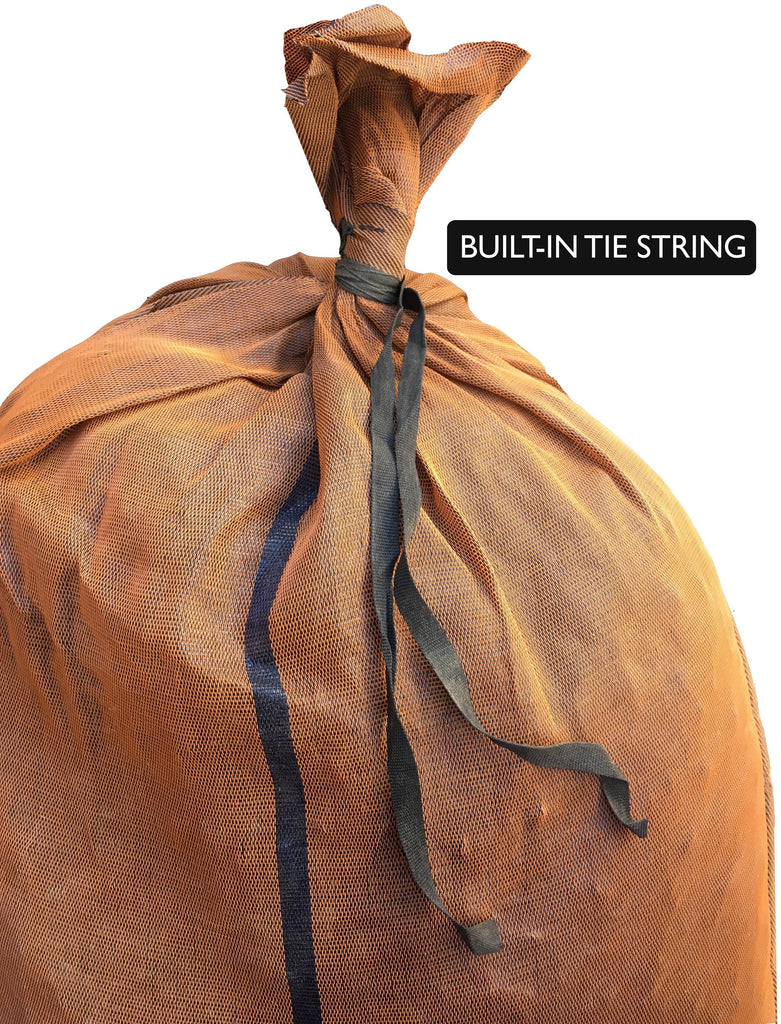 17x27 Monofilament, Long-Lasting Polyethylene Sandbags have a built-in tie string