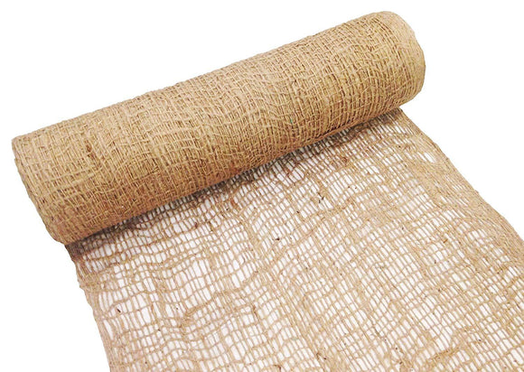 Jute Netting Roll - Erosion Control [4 ft x 225 ft Roll]