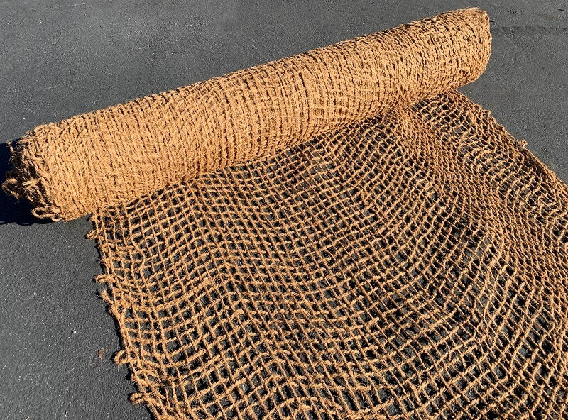 Coir Mat - Biodegradable Erosion Control Matting - Lasts 2-5 years