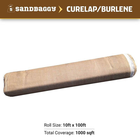 Concrete curing blankets (curelap / burlene): roll size (10 ft x 100 ft), total coverage (1000 sq ft)