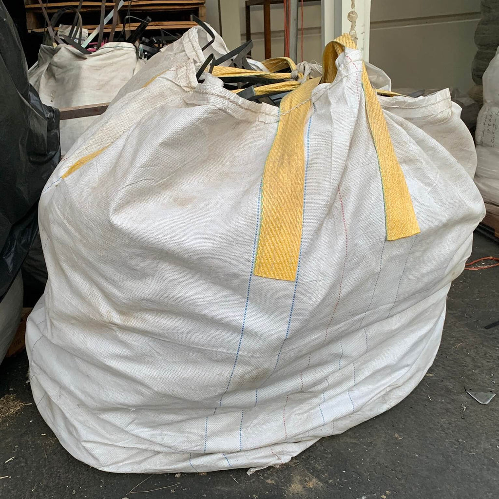 Filled and tied up bulk bag