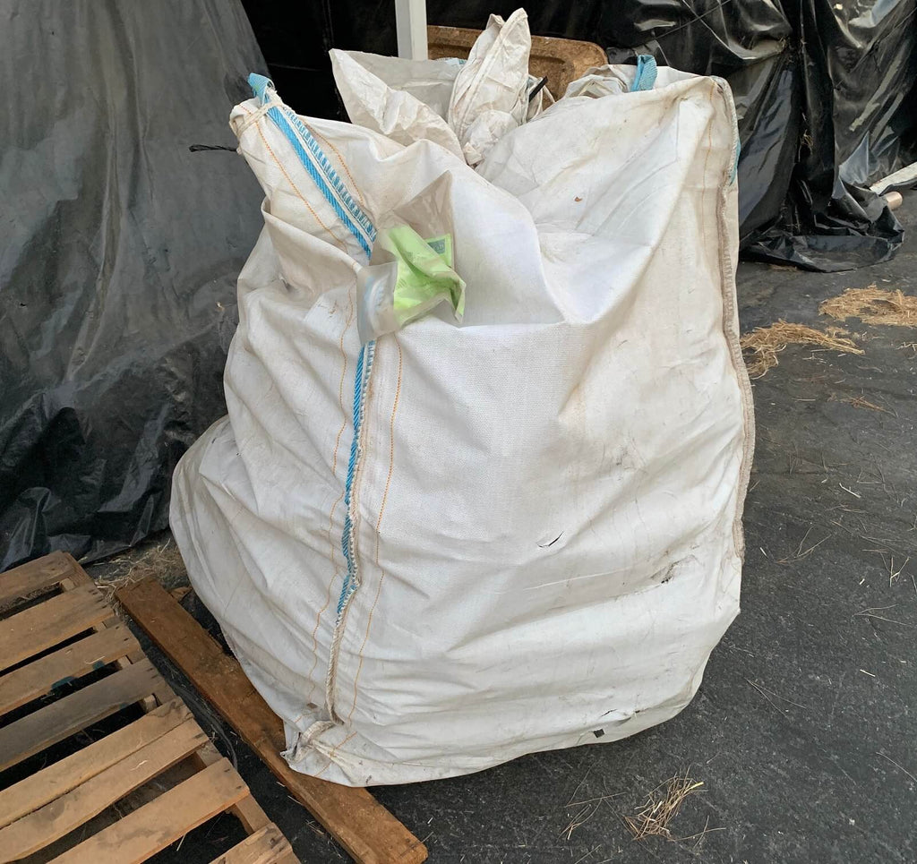 Used Bulk Bags For Holding Sand, Trash, and More (2,000-pound weight capacity)