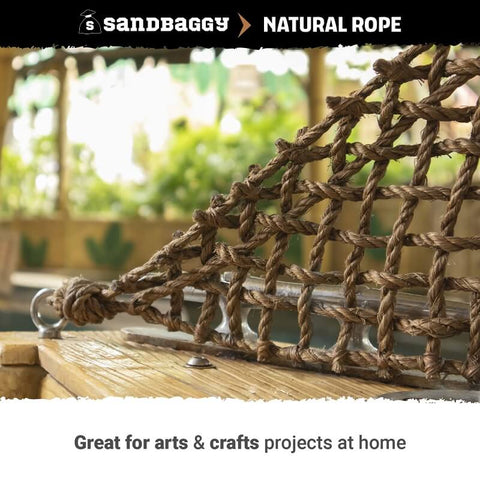 Natural Rope: great for arts and crafts projects at home
