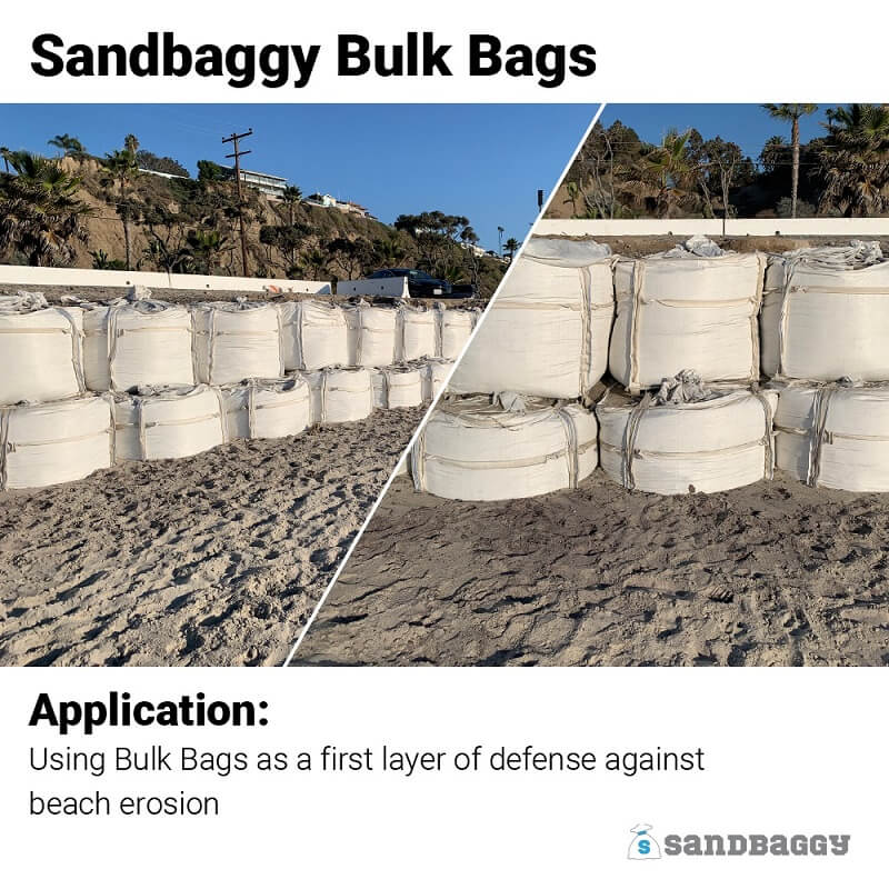 "FIBC Bulk Bags - Empty Bags with 2,000 to 3000-Pound Weight Capacity - 35"" x 35"" x 50"""