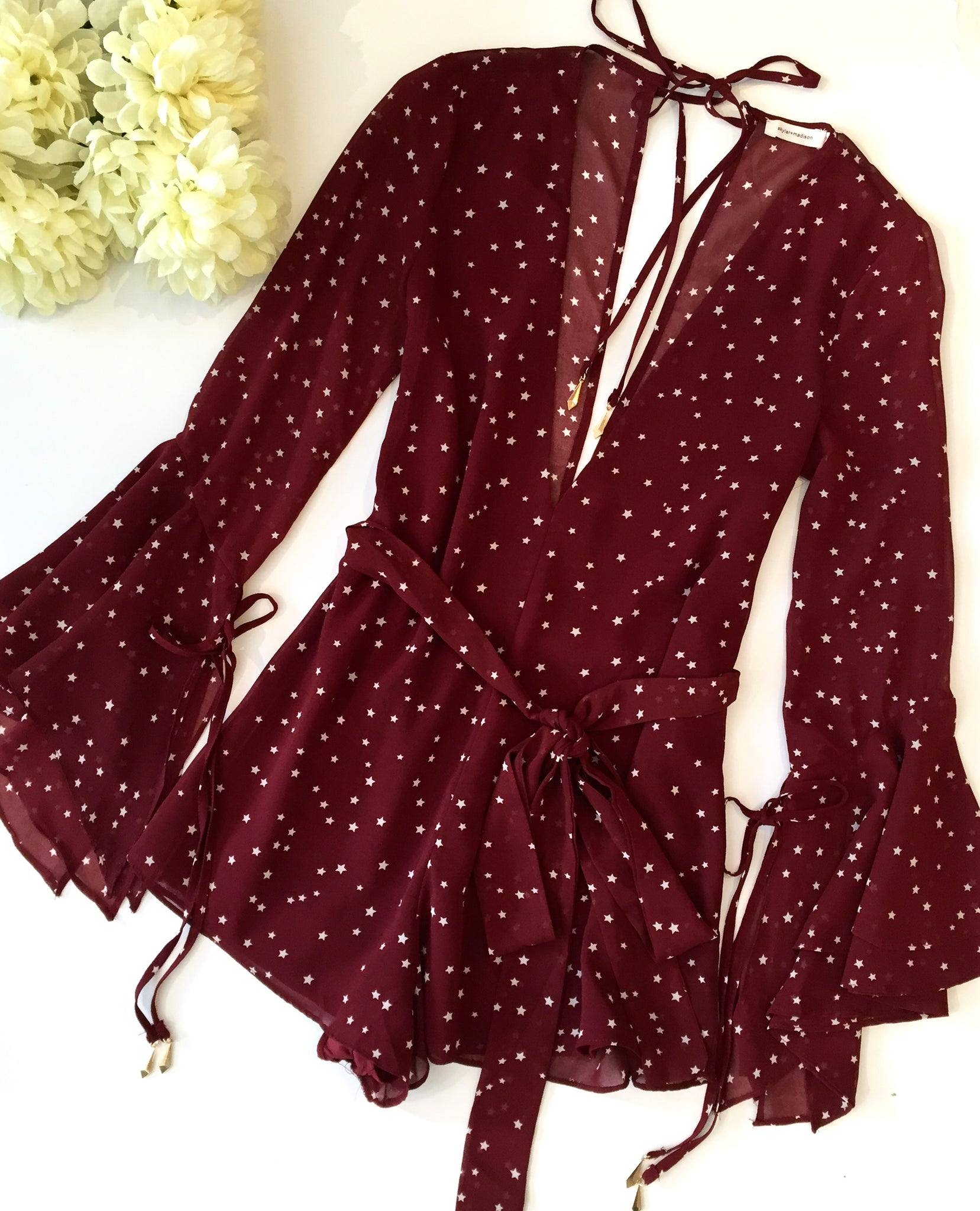 STAR STRUCK ROMPER