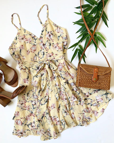 IN FULL BLOOM MINI DRESS