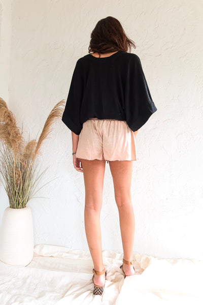 MUSE BLOUSE - BLACK