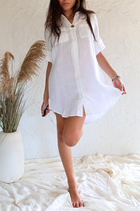 CORE COLLECTION LINEN DRESS