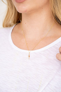 BOLT SHORT NECKLACE