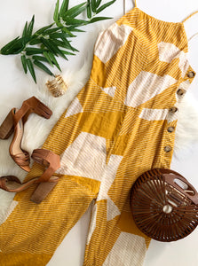 FIELDS OF GOLD JUMPSUIT