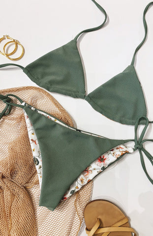 SECRET GARDEN BIKINI SET