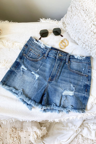 TAIS DENIM SHORTS LIGHTWASH