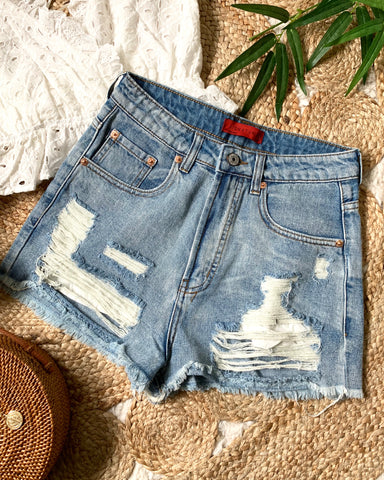 NADIA DENIM SHORTS
