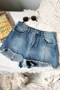 LORE DENIM SHORTS