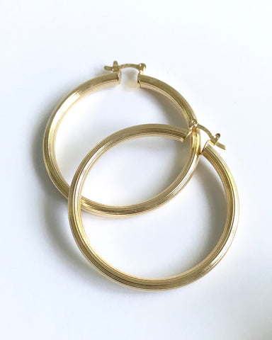 JODI HOOP EARRINGS