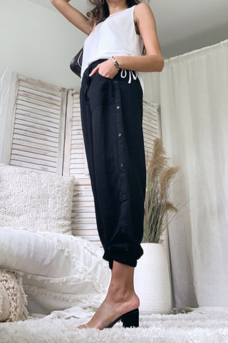 WITH OR WITHOUT YOU PANT - BLACK