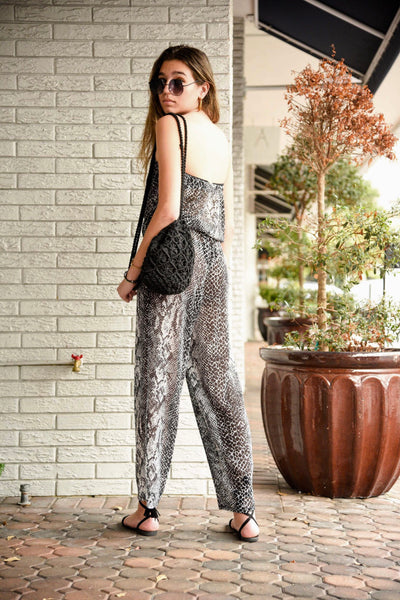 WILD COLLECTION JUMPSUIT