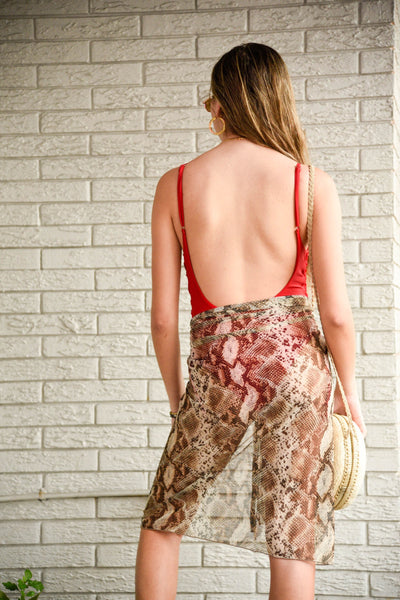 WILD COLLECTION SARONG