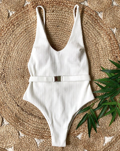 ON THE SCENE ONE PIECE WHITE