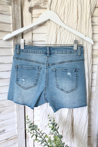 EMMA DENIM SHORTS