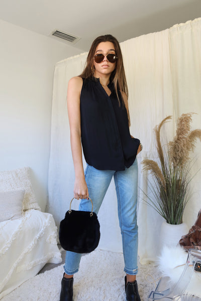 ALEGRIA TOP - BLACK