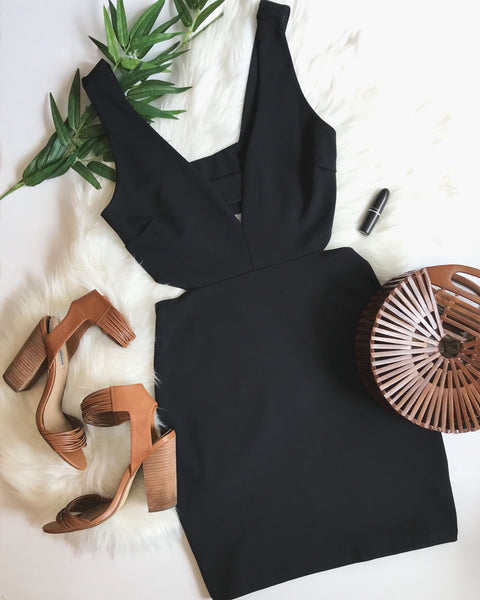 LOVE ME DO DRESS - BLACK