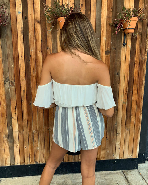 NEW BEGINNINGS ROMPER