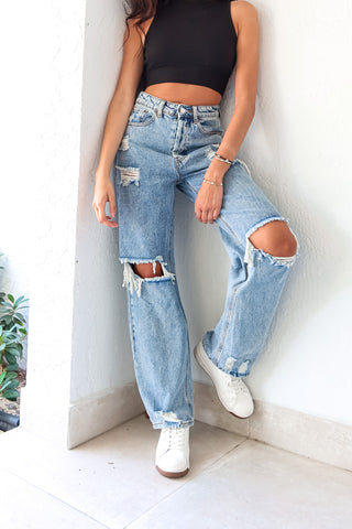CITY STREET DENIM PANT