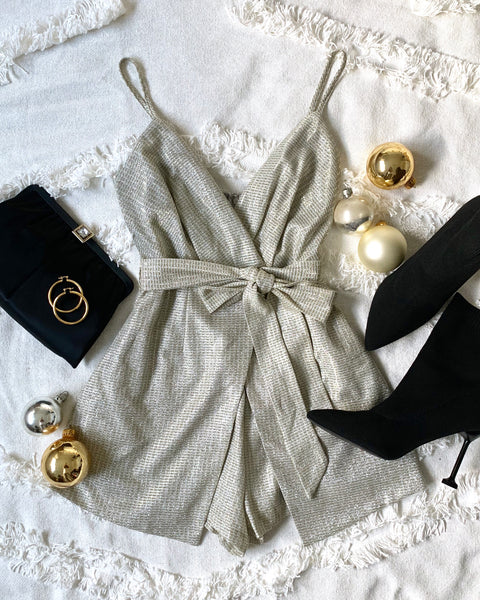 FRONT ROW ROMPER