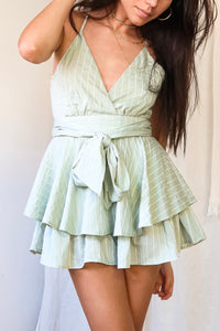 MADRID ROMPER - GREEN